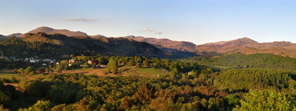 Eskdale from Muncaster Fell