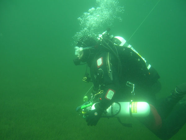 Diver in Wastwater