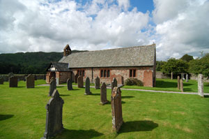 St. Cathrines church Eskdale